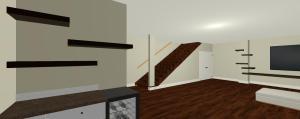 3D Basement Model Renovation