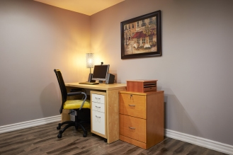 Basement Office Finished Renovation Toronto