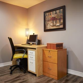Basement Office Finished Renovation Toronto