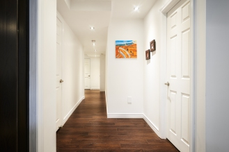 Basement Renovation Hallway