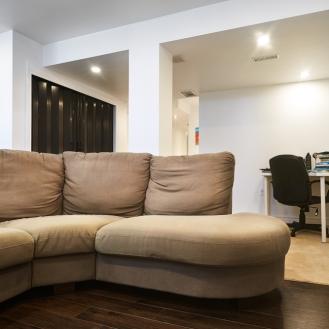 Basement Finished Living Room