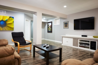 Renovated Basement Mississauga Milton GTA Brampton