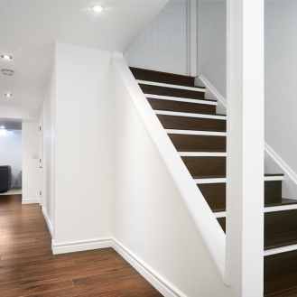Finished Basement Staircase